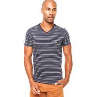 Camiseta Lacoste Listras Masculina El Hombre