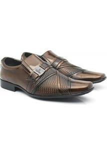 Sapato Social Venetto Moderno Classic - Masculino-Cobre