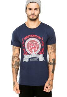 Camiseta Pretorian Estampa Azul