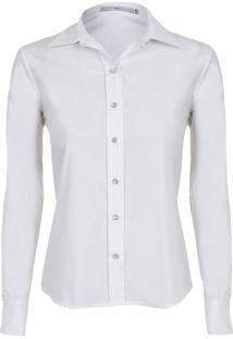 Camisa Mx Fashion Amarração Eva Off White
