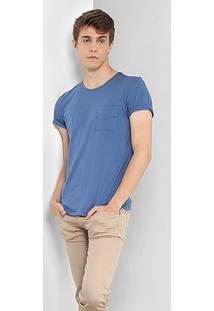 Camiseta Drezzup Bolso Masculina - Masculino