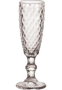 Taças Para Champagne Transparente 6 Peças - Tricae