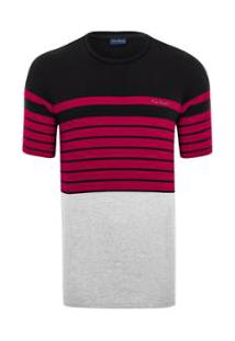 Camiseta Listradora - Masculino