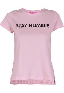 Camiseta Mullet Feminina Lara - Rosa