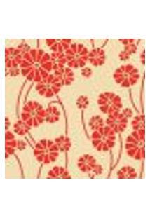 Papel De Parede Autocolante Rolo 0,58 X 3M - Floral 0193