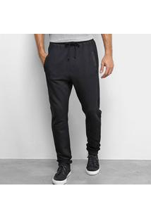 Calça Moletom Calvin Klein Loungewear Masculina - Masculino-Preto