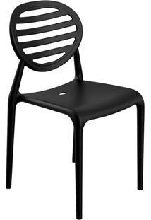 Cadeira Stripe Preta