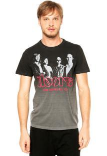 Camiseta Ellus The Doors Cinza