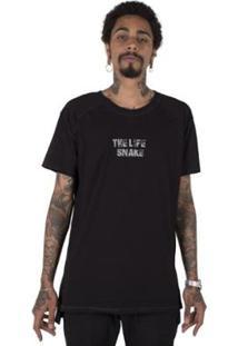 Camiseta Longline Stoned Gold The Life Snake Masculina - Masculino