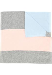 Chinti & Parker Cachecol Color Block - Cinza