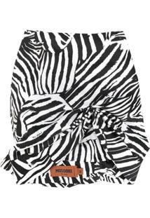 Missoni Chapéu Com Estampa De Zebra E Torcido Frontal - Preto