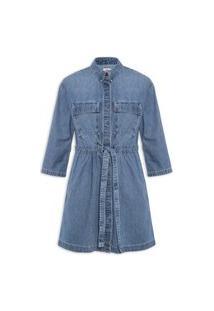 Vestido Ainsley Utility - Azul