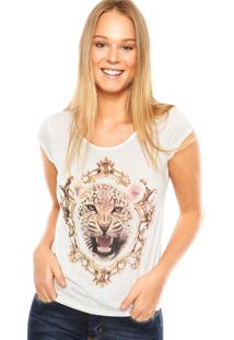 Blusa Vínculo Basic Tigre Off-White