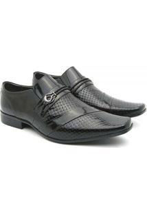 Sapato Social Couro Venetto Em Verniz Prince - Masculino