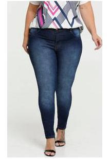 Calça Jeans Skinny Plus Size Biotipo