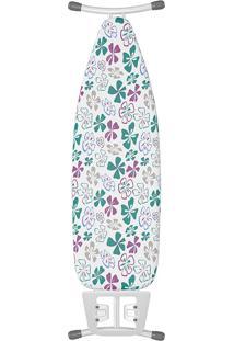 Tábua De Passar Leblon Floral - Flash Limp - Colorido