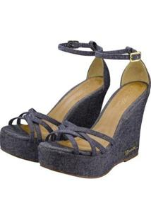 Sandália Barth Shoes Estrela Feminina - Feminino-Azul