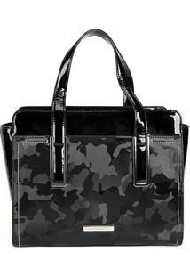 Bolsa Loucos & Santos Handbag Army Feminina - Feminino-Preto