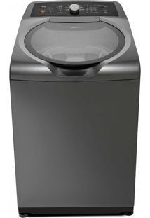 Máquina De Lavar 15Kg Double Wash Grafite Metálico Com Ciclo Edredom Brastemp 110V