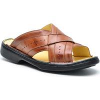 8187f141ce Sandália Dr Shoes Conforto Masculino - Masculino-Caramelo