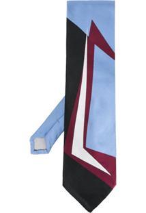 Marni Gravata De Seda - Azul