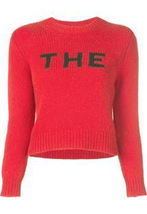 Marc Jacobs Suéter 'The' - Vermelho