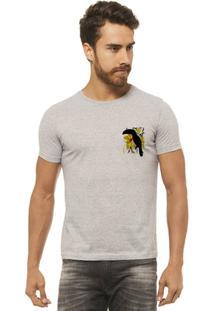 Camiseta Joss - Tucano Flor - Masculina - Masculino-Mescla
