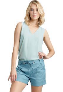 Regata Mx Fashion Chiffon Eliza Verde Claro