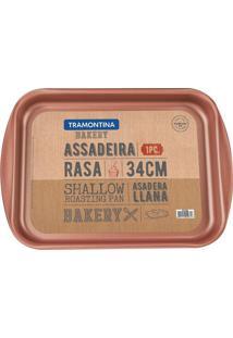 Assadeira Bakery- Bronze- 3,5X39,2X28,2Cmtramontina