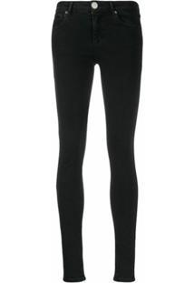 Sandro Paris Calça Jeans Skinny 'Pam' - Preto