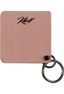 Carteiras Khelf Porta Cartáo Feminino Com Espelho Rosa - Kanui