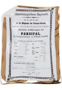 Fornasetti Cinzeiro 'Parsifal' Branco.