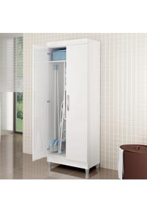 Armário Multiuso 2 Portas Lavanda Branco New - Notavel