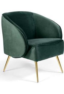 Poltrona Decorativa Wind -Combinare - Verde