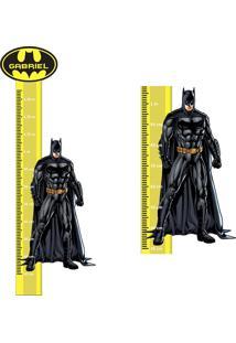 Adesivo Régua De Crescimento Batman