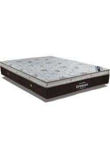 Colchão Ortobom Molas Pocket Sleep King Látex - King - 1,93X2,03X0,32