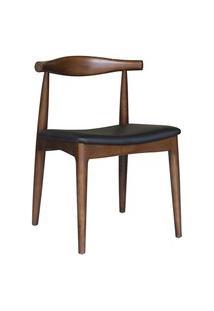 Cadeira Carina Madeira Escura Rivatti