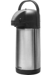 Garrafa Térmica 3 Litros Brinox Inox Com Alça