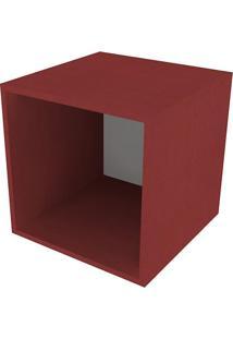 Nicho Quadrado Cubo Iii Vermelho