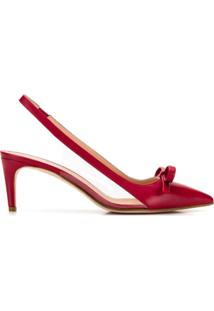 Red Valentino Scarpin Red(V) Sandie - Vermelho