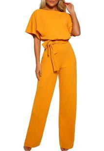 Macacão Elegance - Amarelo P