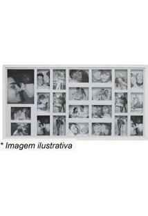 Painel Para 23 Fotos- Branco- 53X103X2Cm- Kaposkapos
