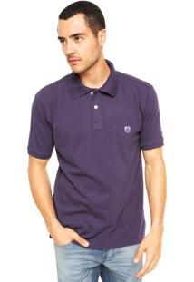 Camisa Polo Mr. Kitsch Vauvert Roxa