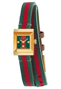 Gucci Relógio G-Frame - Estampado