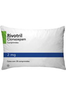 Fronha Para Travesseiros Nerderia E Lojaria Remedio Rivotril Colorido