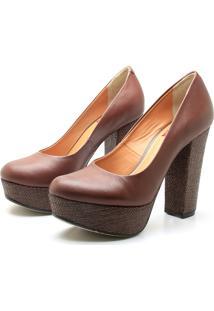Sapato Saltare 7515 Marrom