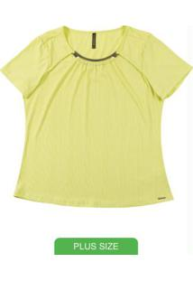Blusa Com Decote Diferenciado Verde