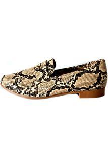 Sapato Prata Couro 1009789 Bege