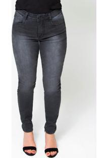 Calça Feminina Jeans Skinny Jeans Preto