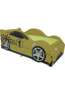 Bicama Xr4 Cama Carro Amarelo